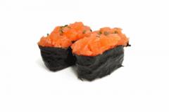 10A-Tartare de saumon
