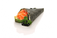 35-Temaki avocat saumon